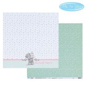 Бумага для скрапбукинга 'Сладости', 30.5 x 30.5 см, 180 г/м² Ош