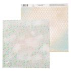 Бумага для скрапбукинга «Счастье в каждой строчке», 30,5 х 30,5 см 180 г/м