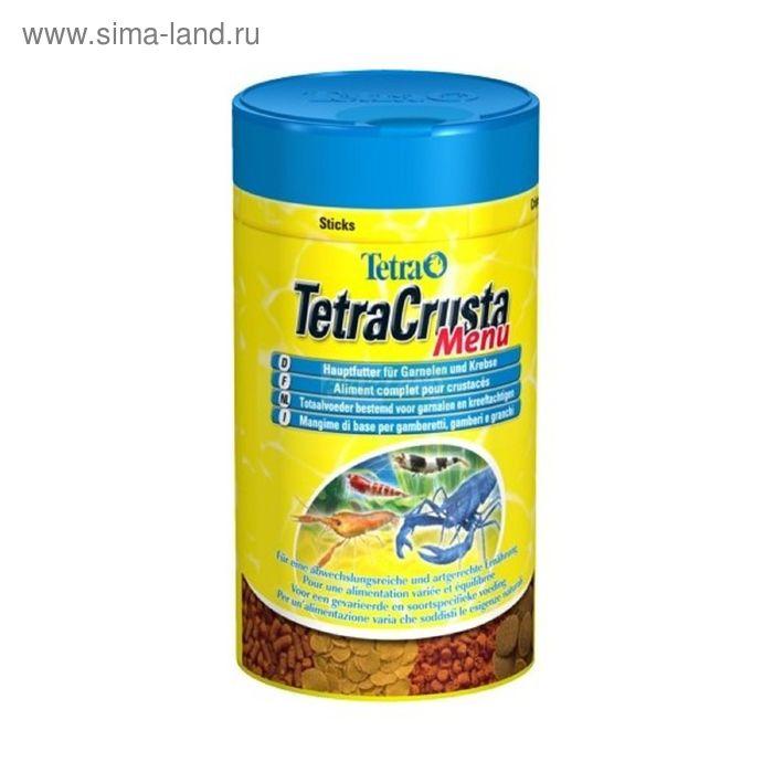 Корм для ракообразных и крабов Tetra Crusta Menu 100мл