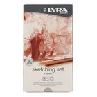 Карандаши художественные набор LYRA Sketching Set 11 шт. (ластик-клячка+точилка) L2041110