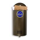 Ящик почтовый вертикальный, без замка (с петлёй), полукруглый, цвет МИКС