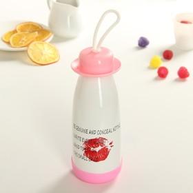 Бутылка питьевая 300 мл «Поцелуй», цвет МИКС Ош