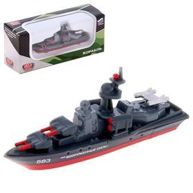 Корабль металлический, 7 см Ош