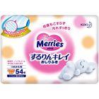 Детские влажные салфетки MERRIES, запасной блок, 54шт