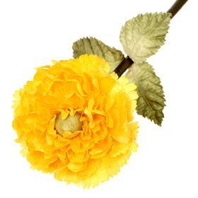 Декоративный цветок 'Жёлтый георгин' Ош