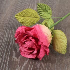 Декоративный цветок 'Ярко-розовая роза' Ош