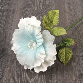 Декоративный цветок 'Сказочная роза', нежно-голубой Ош
