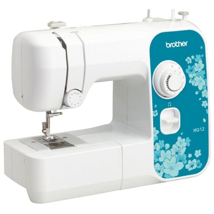 Швейная машина Brother HQ-12, 4 операций, стабилизатор усилия прокола, регул давления лапки