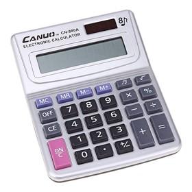 Калькулятор настольный 08-разрядный CN-880А двойное питание Ош