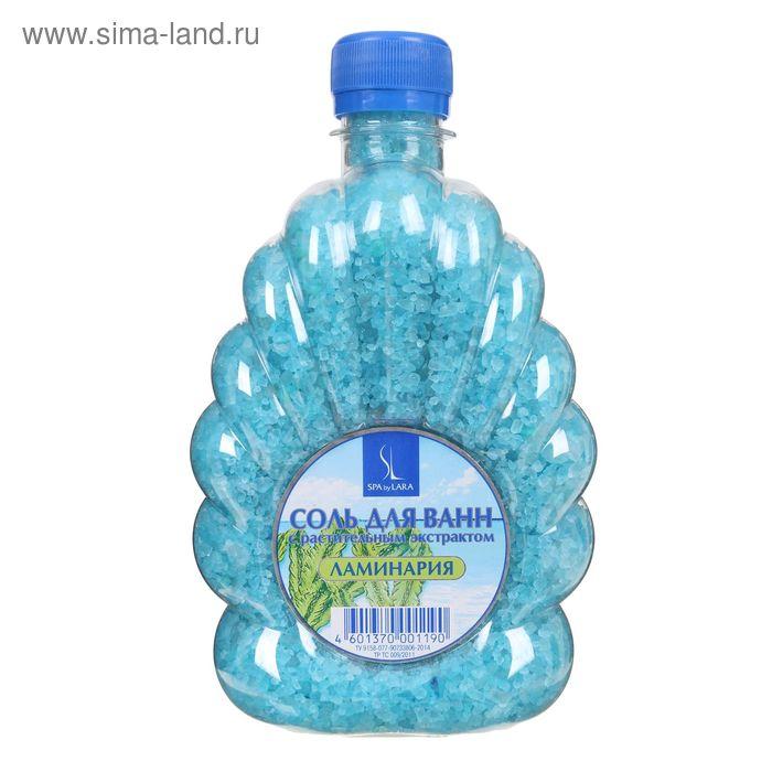 Соль морская Spa by Lara для ванн с экстрактом ламинарии, 600 г