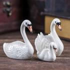 """Сувенир """"Лебеди"""", набор 3 шт."""