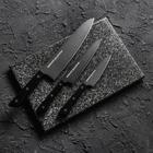 Набор ножей Shadow, 3 предмета с покрытием Black Fuso (лезвия 9,9 см, 12 см, 20,8 см)
