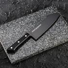 Нож кухонный 17,5 см Shadow, с покрытием Black Coating