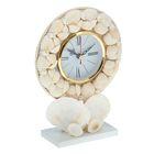 Часы настольные серия Ракушки Солнечный пляж 15*20см