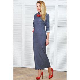Платье женское 5661а, размер 46, рост 164 см, цвет разноцветный