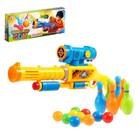 """Пистолет """"ПингПонг"""", стреляет шариками + кегли"""