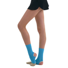 Голеностоп гимнастический, размер S, цвет голубой
