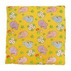 Подушка детская, размер 40*40 см, цвет желтый 12-2С
