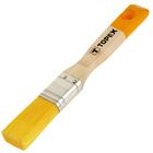 """Кисть плоская TOPEX """"Эксперт"""", 25 мм, ручка дерево, смешанная щетина, для пропиток"""