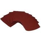 Набор наждачной бумаги TORSO, P2500, 230х280 мм, 10 листов