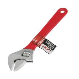 Ключ разводной LOM, обрезиненная рукоятка, 250 мм