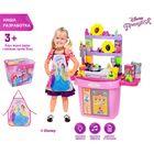 """Игровой набор кухня-конструктор """"Принцессы"""", 43 предмета"""