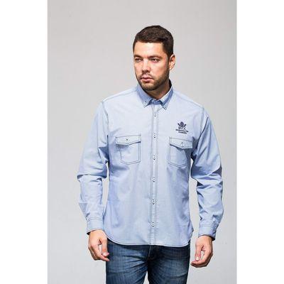 Рубашка мужская John Jeniford JJс-142320-SL42, slim fit, размер 41