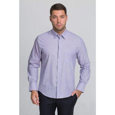 Рубашка мужская John Jeniford JJ-142006-SL2, slim fit, размер 41