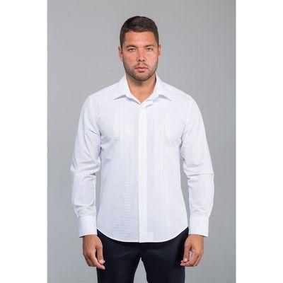 Рубашка мужская John Jeniford JJ-142021-SL2, normal fit, размер 45