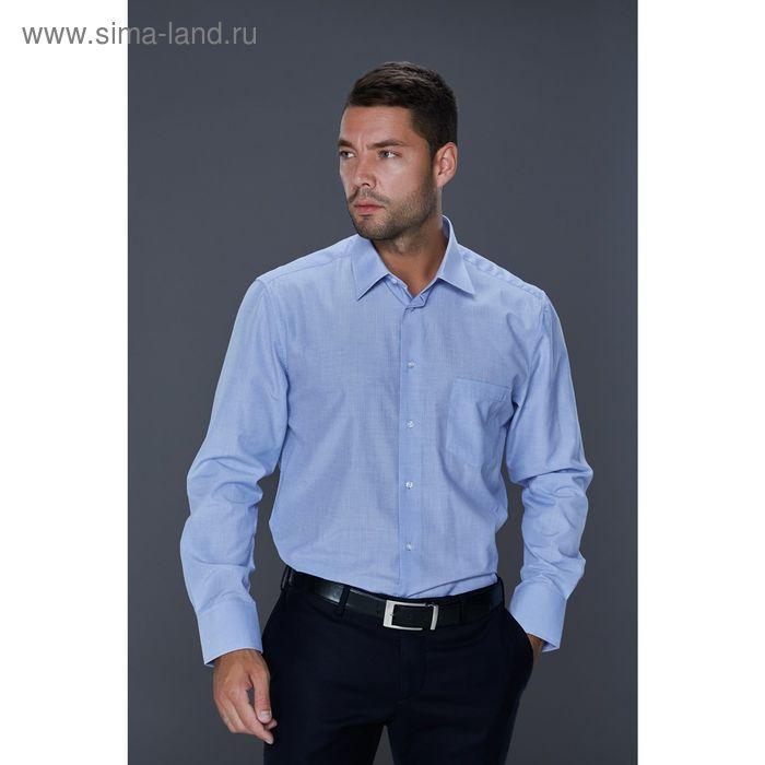 Рубашка мужская John Jeniford JJ-152402-SL2, slim fit, размер 42