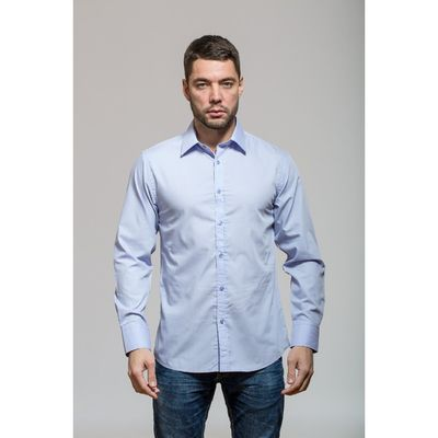 Рубашка мужская John Jeniford JJT-141-604, slim fit, размер 42