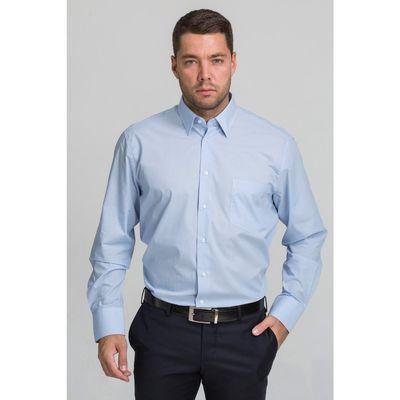 Рубашка мужская John Jeniford JJ-142055-SL2, normal fit, размер 45