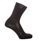 Носки мужские шерстяные, цвет чёрный, размер 25