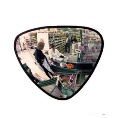 Зеркало для помещений треугольное 33*38