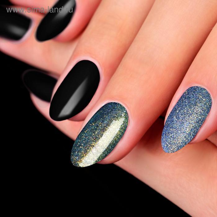 Пудра для декора ногтей, 3гр, цвет фиолетовый