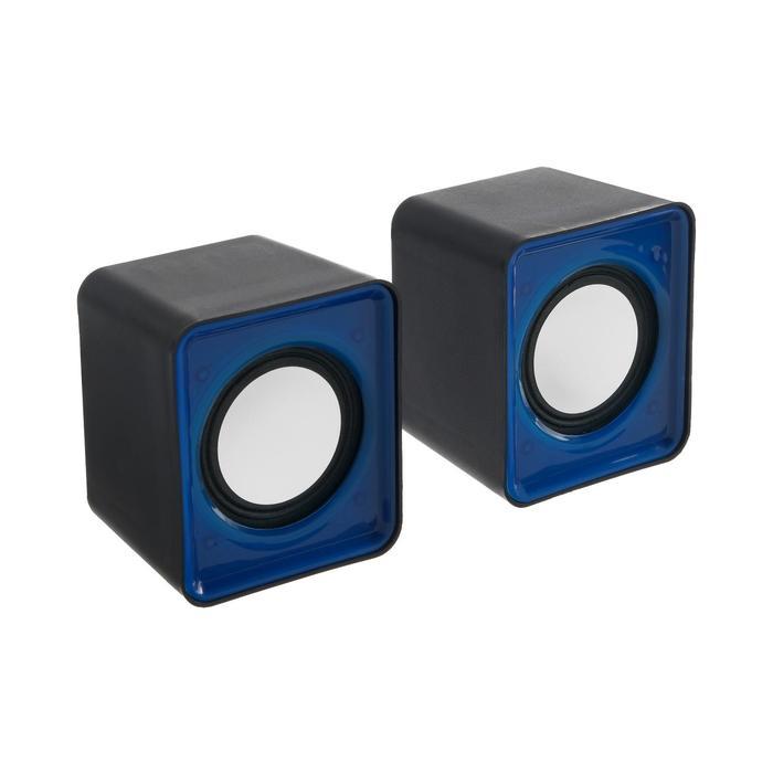 Портативные колонки G-104 USB для ПК/разъем 3,5