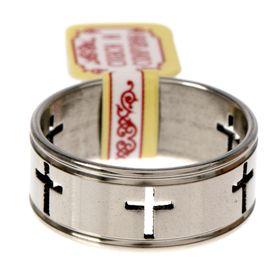 Кольцо 'Кресты', размер 18 Ош