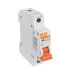 Выключатель автоматический TDM ВА47-29, 1п, 63 А, 4.5 кА, SQ0206-0080