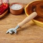 Нож консервный  эконом  160мм, бук, сталь твердая коррозионностойкая