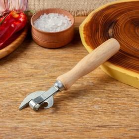 Нож консервный эконом 160 мм, бук экстра, сталь твёрдая коррозионностойкая