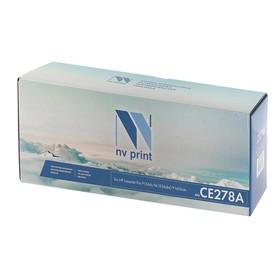 Картридж NVP совместимый HP CE278A для LaserJet Pro P1566/M1536dnf/P1606dn (2100k) Ош