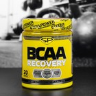 Аминокислоты ВСАА Recovery Steel Power Nutrition, апельсин, 250 г