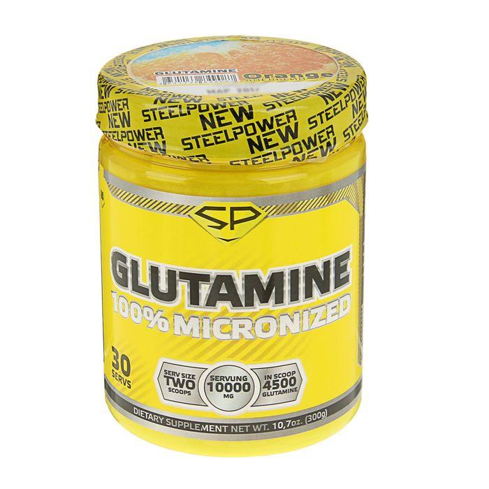 Глютамин Glutamin Апельсин 300 гр