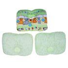 Подушка анатомическая, размер 35*50 см, цвет зелёный микс 09.3Б