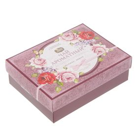 Чай чёрный, подарочный «Шкатулка», с ароматом малины и вишни 40 п. x 2 г