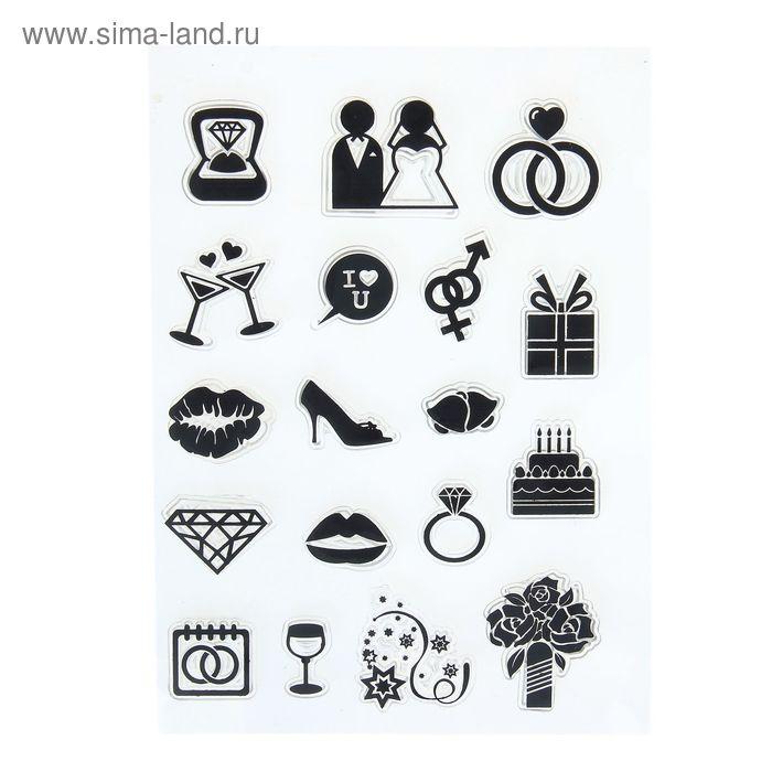 Набор печатей для эмбоссинга №20