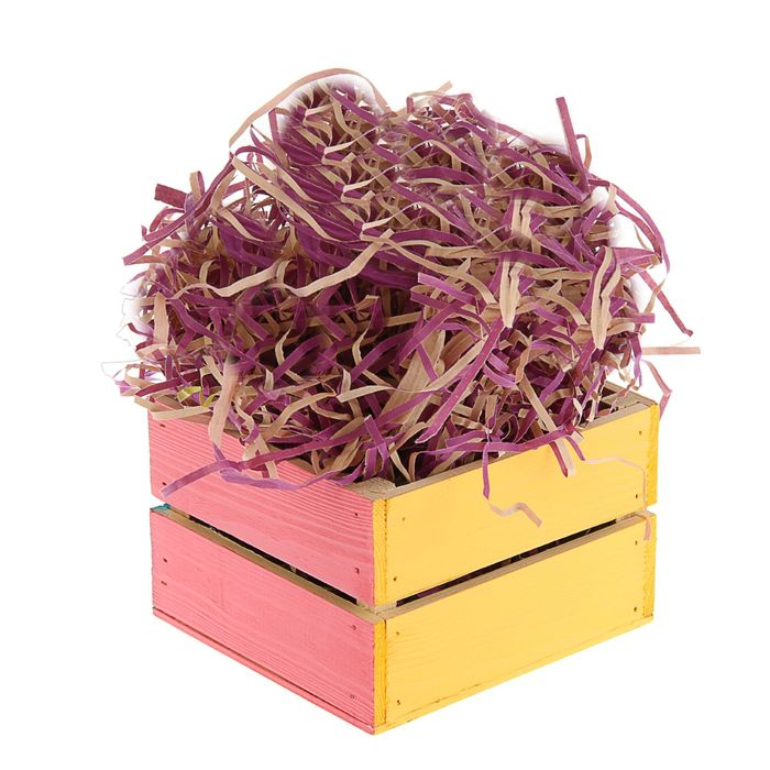 Наполнитель бумажный крафт фиолетовый, 200 г