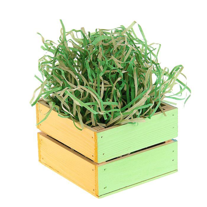 Наполнитель бумажный крафт травяной, 200 г
