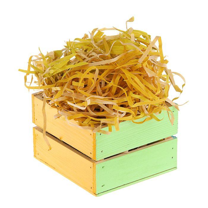 Наполнитель бумажный крафт жёлтый, 200 г