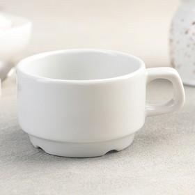Чашка 170 мл, штабелируемая, цвет белый